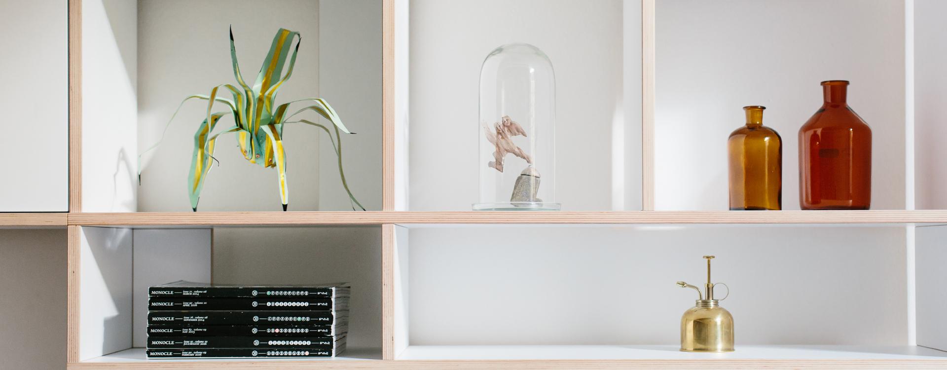 Tylko white Type01 shelf - Tidy and Clean