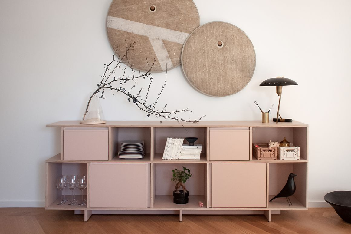 Type01 Plywood with simple organic decor